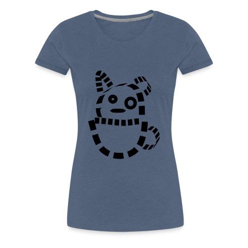 Katze Hund Kätzchen cat süß schmusekatze Geschenk - Frauen Premium T-Shirt
