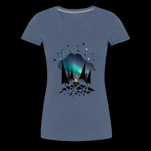 Northern night - T-shirt Premium Femme