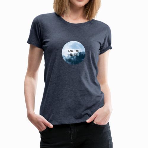 Damen T-Shirt Sommer - Frauen Premium T-Shirt