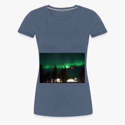 Aurora Boreale - Maglietta Premium da donna