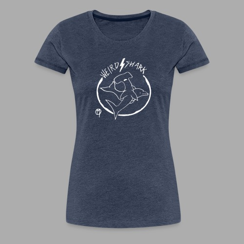 Weird shark - T-shirt Premium Femme