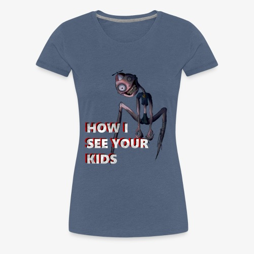 how i see kids - Women's Premium T-Shirt