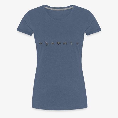 game control - Camiseta premium mujer