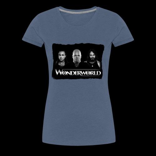 Wonderworld Black and white - Premium T-skjorte for kvinner