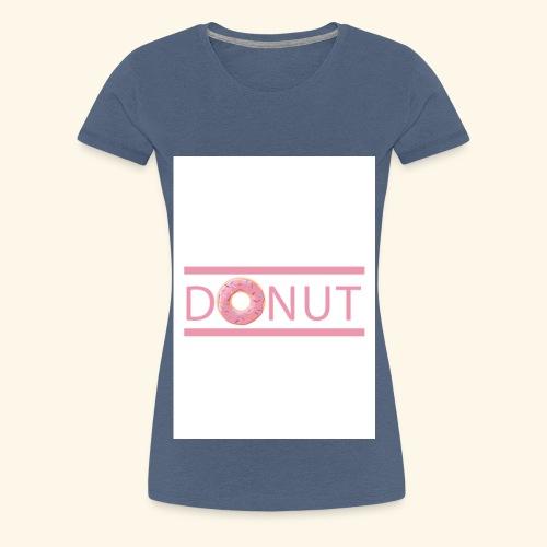 Donut-T-Shirt - Frauen Premium T-Shirt