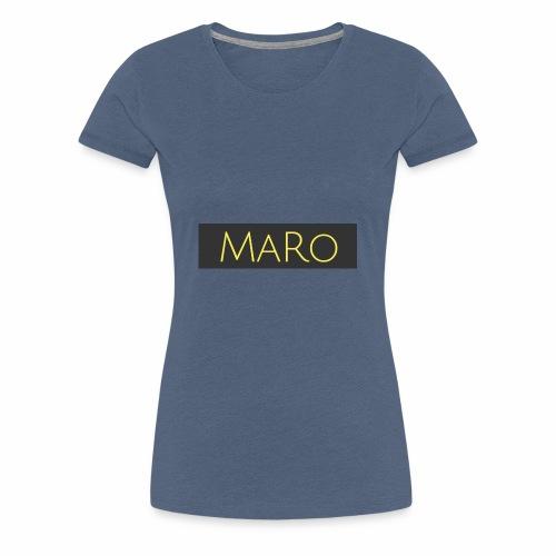 Maro Discret - T-shirt Premium Femme