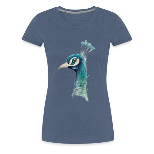 pfau - Frauen Premium T-Shirt