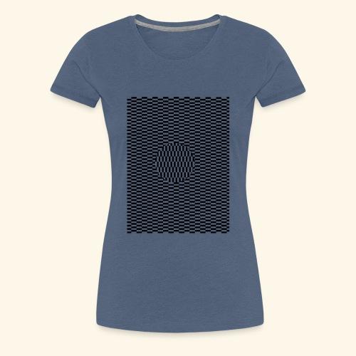 optische Schickung - Frauen Premium T-Shirt