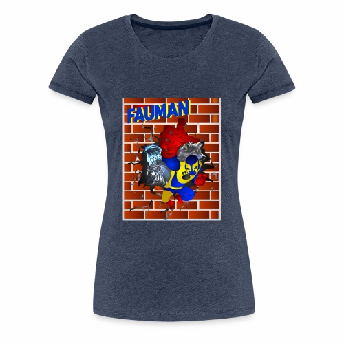 PORTADA FAUMAN - Camiseta premium mujer
