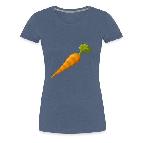 Karotte! - Frauen Premium T-Shirt