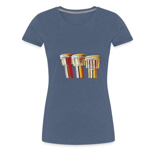 Art lines - Frauen Premium T-Shirt