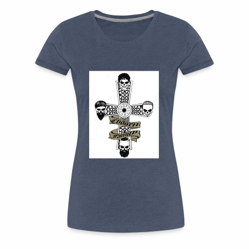 Brotherhood cross - Women's Premium T-Shirt