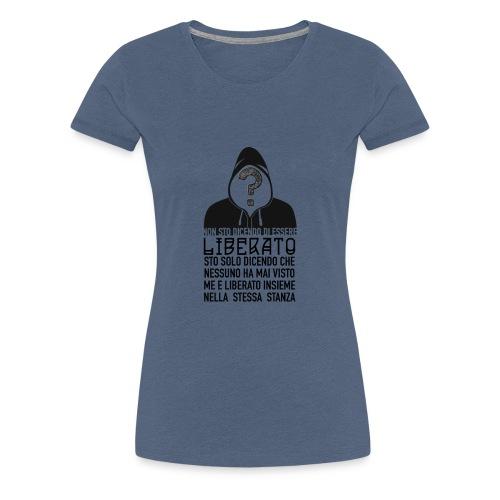 Napoletano Liberato - Maglietta Premium da donna