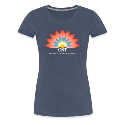 Support Renewable Energy with CNT to live green! - Women's Premium T-Shirt