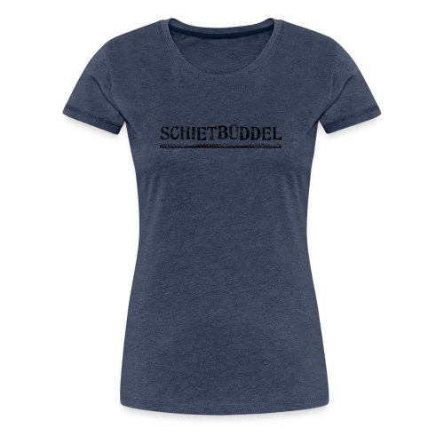 schietbueddel - Frauen Premium T-Shirt
