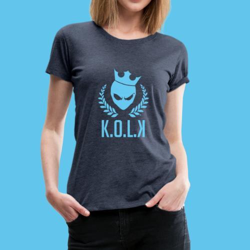 King of Laser - Frauen Premium T-Shirt