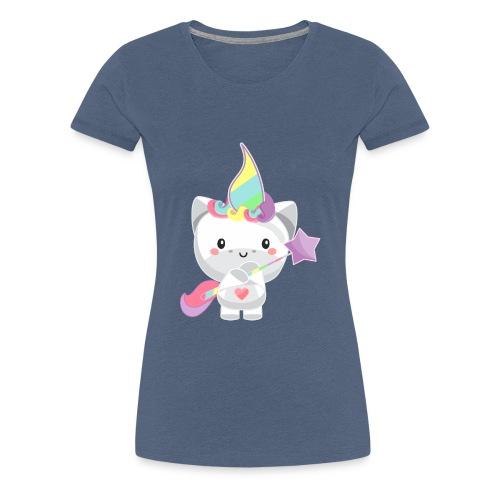 EINHORN UNICORN /Grafik Druck/Print - Frauen Premium T-Shirt
