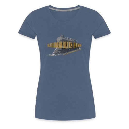Railroad2 - Women's Premium T-Shirt