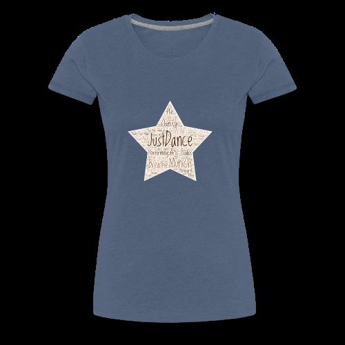 PAS Star Original bg beige - Frauen Premium T-Shirt
