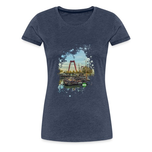 rotterdam splash oude haven 2mini fw - Vrouwen Premium T-shirt