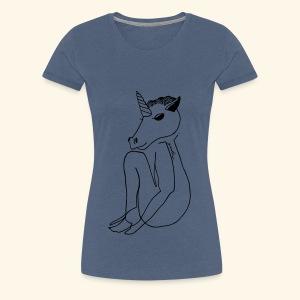 Poor Unicorn - T-shirt Premium Femme