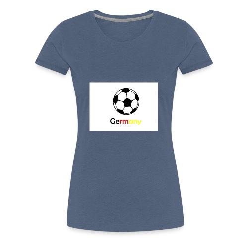 Germany/Football - Frauen Premium T-Shirt