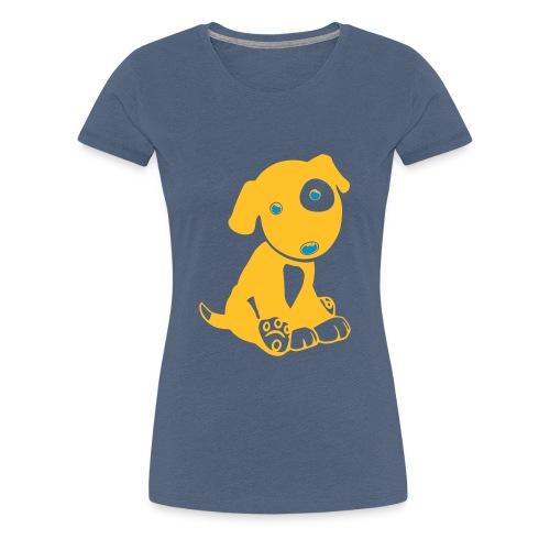 Hund niedlich - Frauen Premium T-Shirt