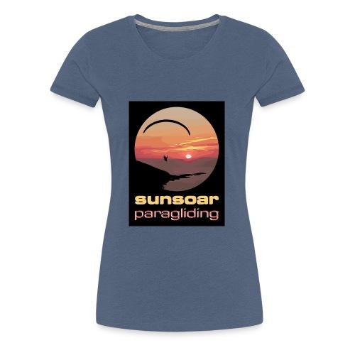 sunsoar paragliding - Women's Premium T-Shirt