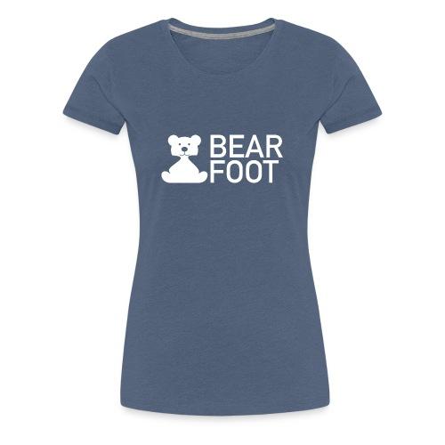 BEAR FOOT - Frauen Premium T-Shirt