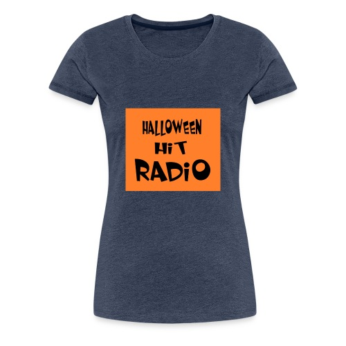 HALLOWEEN HIT RADIO FAN T-SHIRT - Frauen Premium T-Shirt