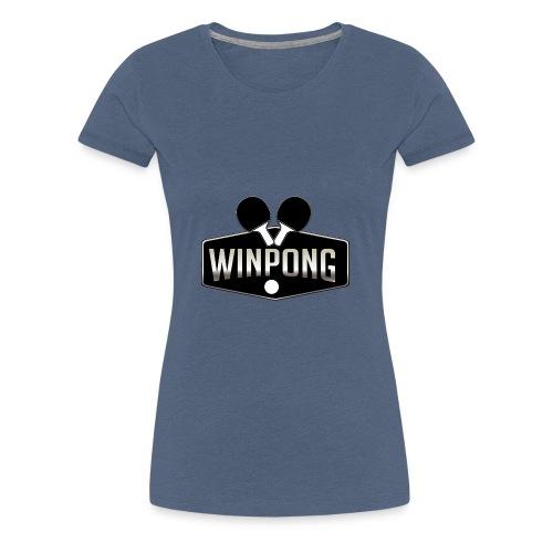 WinPong - T-shirt Premium Femme