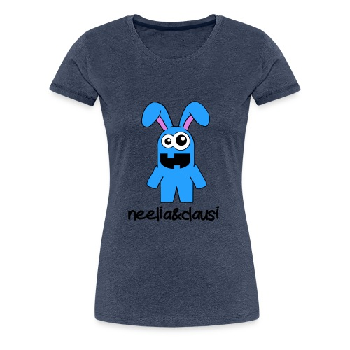 neelia und clausi Logo - Frauen Premium T-Shirt