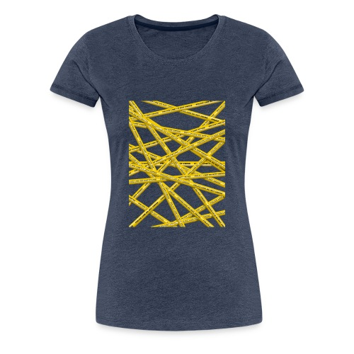 POLICE LINE - Women's Premium T-Shirt