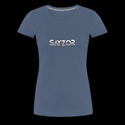 Navy 2017 Sayzor Merch! - Women's Premium T-Shirt