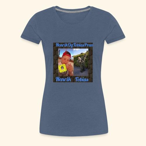 HenrikOGTobias - Premium T-skjorte for kvinner