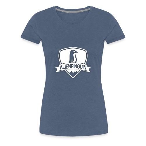 AlienPinguin Logo Vector - Frauen Premium T-Shirt