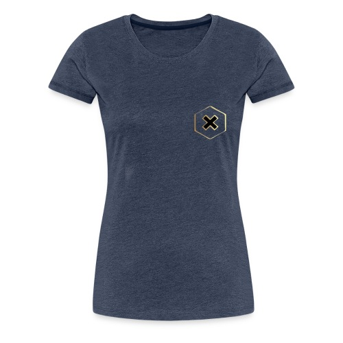 gold cross - Women's Premium T-Shirt