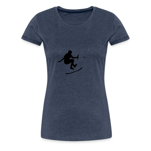 wakeskater_black - Frauen Premium T-Shirt