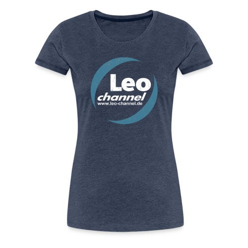 T Shirt Logo Dirty - Leo Channel - Frauen Premium T-Shirt