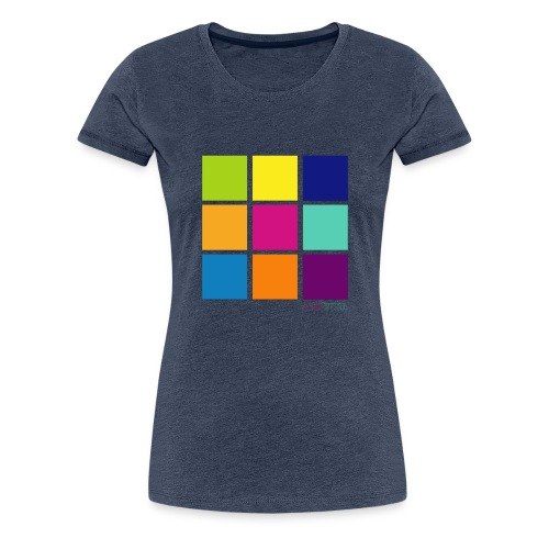 DarnWeird Nine - Vrouwen Premium T-shirt