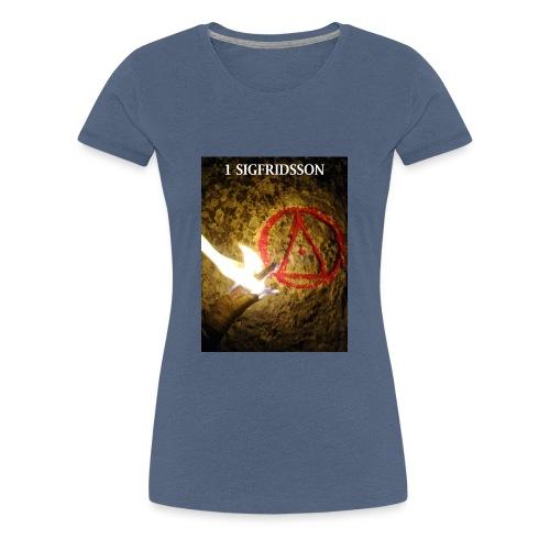 1 SIGFRIDSSON - Premium-T-shirt dam