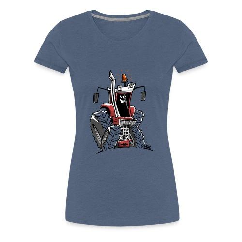 case 856XL kleur zonder wielen - Vrouwen Premium T-shirt