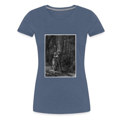 Lonely Warrior - Frauen Premium T-Shirt