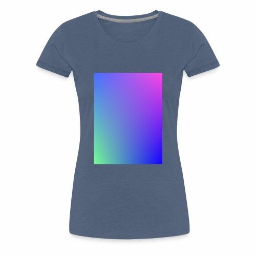 Dégradé tamisé de l'été - T-shirt Premium Femme
