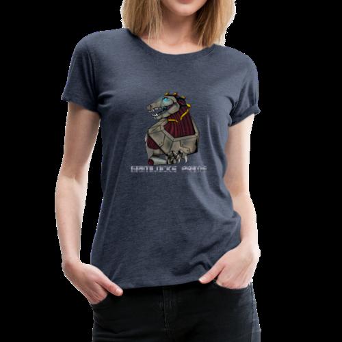 Angry Plushasaur - Women's Premium T-Shirt