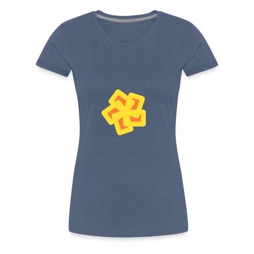 Abstrakte Zeichnung - Frauen Premium T-Shirt