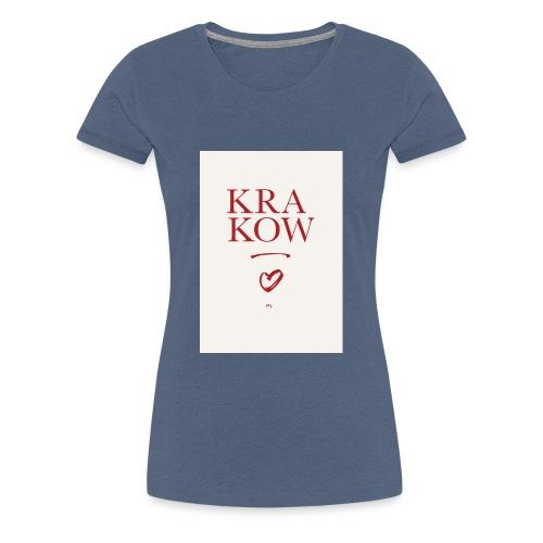 Limited Edition KRAKOW - Frauen Premium T-Shirt