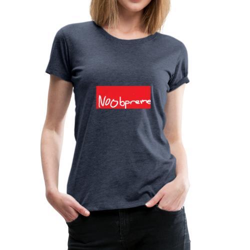Noobpreme Red White - Frauen Premium T-Shirt
