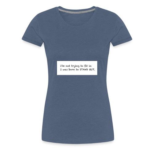 Tee shirt - Women's Premium T-Shirt
