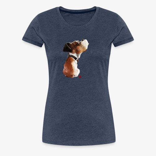 Sketchy Boxer - T-shirt Premium Femme
